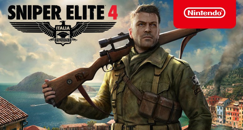 Nintendo Switch owners: Take cover for Sniper Elite 4 this November!