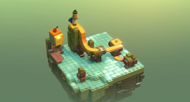 A LEGO-based Puzzle Game that goes beyond LEGO?